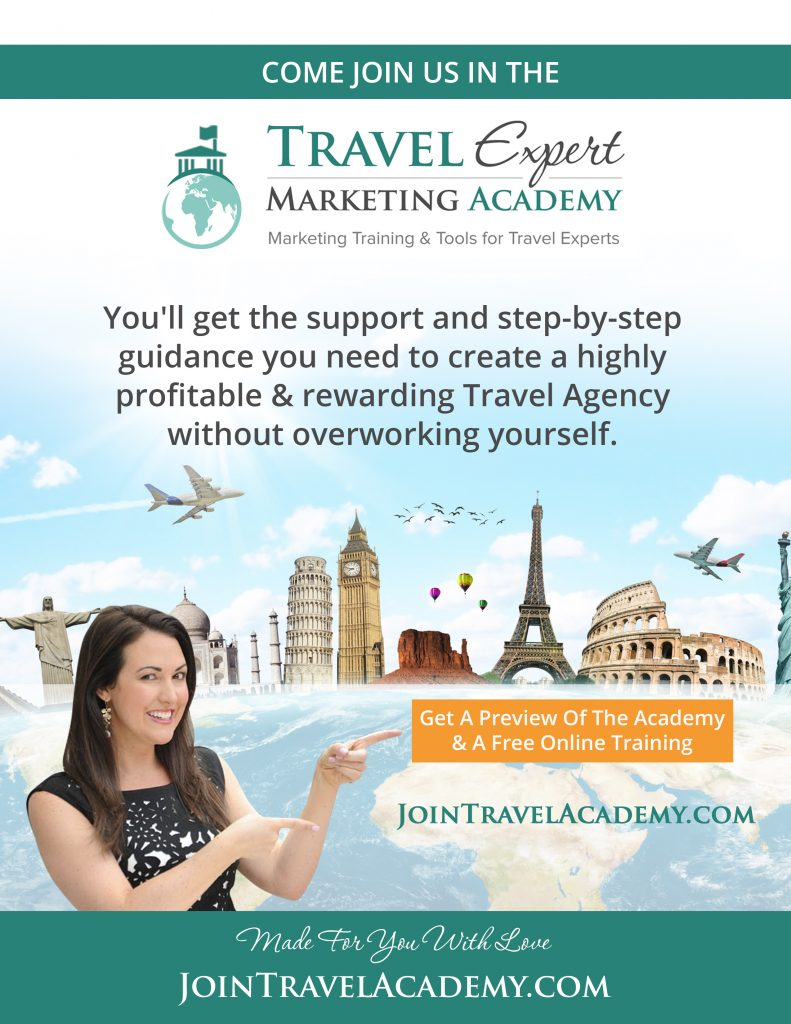 travel expert marketing academy