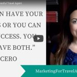how to become a successful travel agent