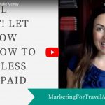 how do travel agents make money